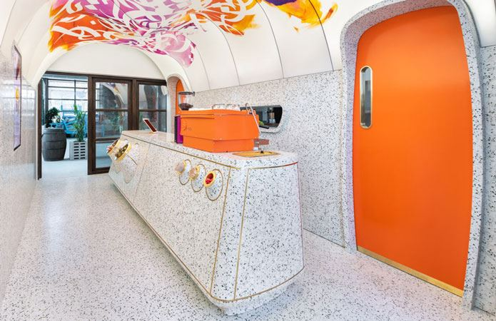 Stunningly Bold Designs With Colortek Terrazzo