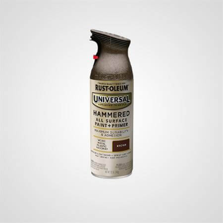 RUST OLEUM SPRAY HAMMERED BROWN