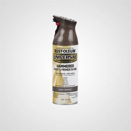 RUST OLEUM SPRAY HAMMERED DARK BRONZE