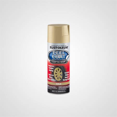 RUST OLEUM  SPRAY PEEL COAT GOLD